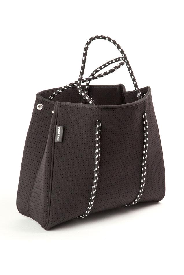 PRENE tote bag – the brighton (matt black) – FTLoM