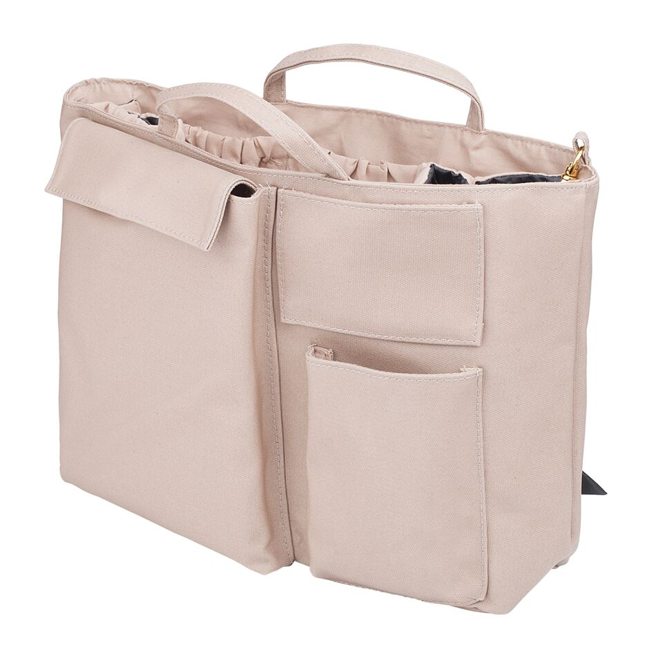 The Nappy Society Compact Changing Bag Insert Sand Ftlom